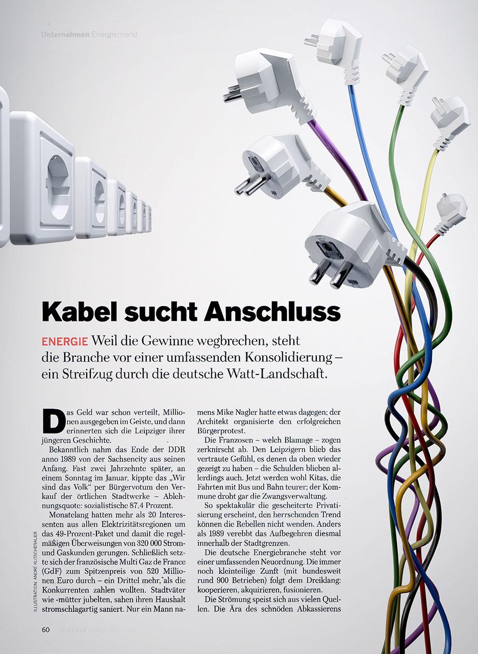 Kabel sucht Anschluss » AK3D®